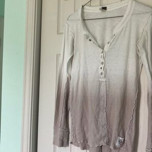 Free People Henley Top